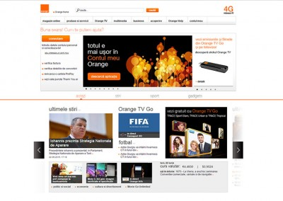Orange Intranet