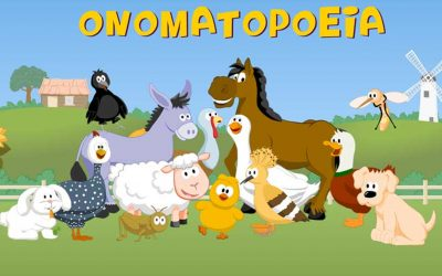 Onomatopoeia: the animals voice