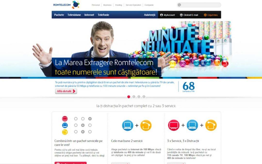 Romtelecom website